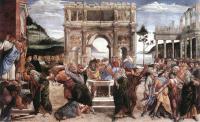 Sandro Botticelli - Наказание Корея, Дафана и Авирона