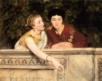 Lourens Alma Tadema (Альма-Тадема) - Галло-романские женщины