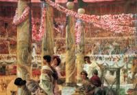 Lourens Alma Tadema - Каракалла и Гета (Коллизей)