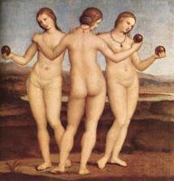 Raffaello Santi - Три грации