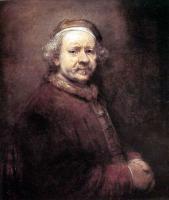 Rembrandt - картины Рембрандта (на фото: Автопортрет)