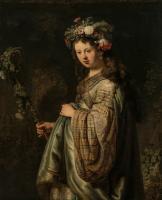 Rembrandt (Рембрандт) - Флора