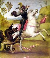 Raffaello Santi - Святой Георгий