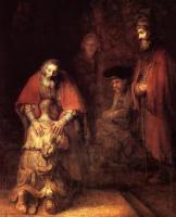 Rembrandt - Возвращение блудного сына