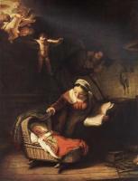 Rembrandt - Святое семейство