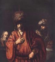 Rembrandt - Давид и Урия
