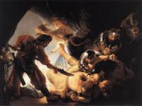 Rembrandt - Ослепление Самсона