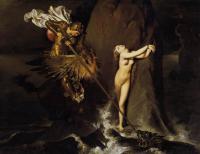 Jean Auguste Dominique Ingres - Руджьер, освобождающий Анджелику
