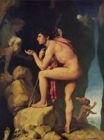 Jean Auguste Dominique Ingres - Эдип и Сфинкс