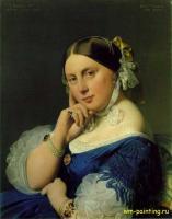 Jean Auguste Dominique Ingres - Мадам Энгр