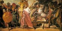 Энгр Жан Огюст Доминик ( Jean Auguste Dominique Ingres ) - Ромул - победитель Акрона