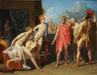 Jean Auguste Dominique Ingres - Послы Агамемнона в палатке Ахиллеса