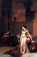 Gerome Jean-Leon - Клеопатра перед цезарем