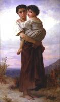 Adolphe William Bouguereau - Юные цыгане