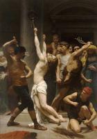 Adolphe William Bouguereau - Бичевание Христа