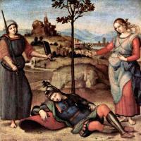 Raffaello Santi - Сон рыцаря