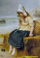 Millais, John Everett - Послание с моря, Милесс