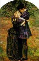 Millais, John Everett - Гугеноты спасаются в одеждах католиков
