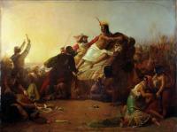 Millais, John Everett - Писсаро захватывает Инку