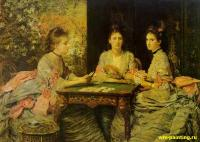 Millais, John Everett - Черви козыри
