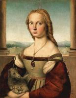 Raffaello Santi - Дама с единорогом