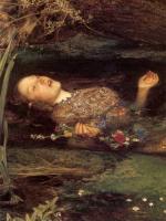 Millais, John Everett - Офелия ( деталь )