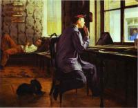 Репин Илья ( Ilya Yefimovich Repin ) - Подготовка к экзаменам