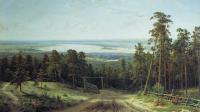 Ivan Shishkin - Кама возле Елабуги