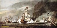 Море в живописи ( морские пейзажи, seascapes ) - Битва при Текселе