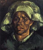 Van Gogh - Крестьянка, портрет Гордины де Грут