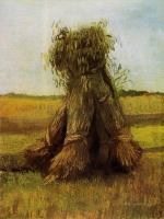 Van Gogh - Вязанки пшеницы на поле
