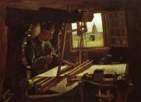 Van Gogh - Ткач у открытого окна