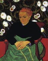 Van Gogh - Колыбельная, портрет мадам Рулен