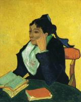 Van Gogh - Ардезианка, портрет мадам Жину