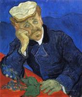Портрет доктора Гаше :: Ван Гог, описание картины
