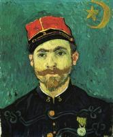 Van Gogh - Портрет Поля-Эжена Милье