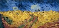 Van Gogh - Пшеничное поле с воронами