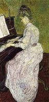 Маргарит Гаше за пианино [ картина - последние работы ] :: Ван Гог ( Van Gogh)