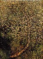 пейзаж < Цветущие яблони у воды >:: Клод Моне ( Claude Monet )