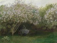 пейзаж < Сирень >:: Клод Моне ( Claude Monet )