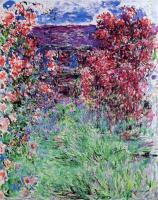 Моне Клод (Claude Monet) - Дом среди роз