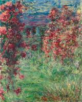 Claude Monet - Дом среди роз