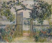 Моне Клод (Claude Monet) - Садовые ворота в Ветёе