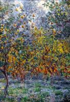 Моне Клод (Claude Monet) - Под лимонными деревьми