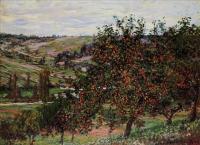 Claude Monet - Яблони недалеко от Ветёя