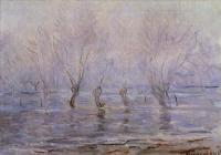Claude Monet - Половодье в Живерни
