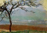 Claude Monet - Пейзаж, Живерни