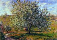 Claude Monet - Дерево в цвету недалеко от Витёя
