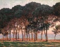 Claude Monet - Под соснами, ближе к вечеру