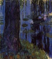 Моне Клод (Claude Monet) - Плакучая ива и кувшинка